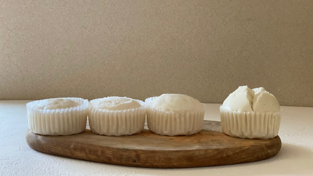 米粉の蒸しパン